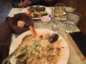 Pasta and Seafood - Catch Seafood Bar and Grill